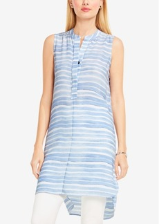 Vince Camuto Sleeveless High-Low Tunic Shirt