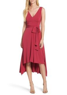 Vince Camuto Sleeveless High/Low Dress
