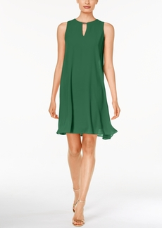 Vince Camuto Sleeveless Keyhole Flyaway Dress