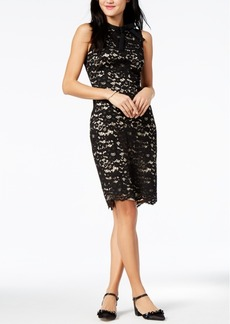 Vince Camuto Sleeveless Lace Bow Dress