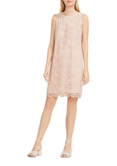 Vince Camuto Sleeveless Lace Shift Dress
