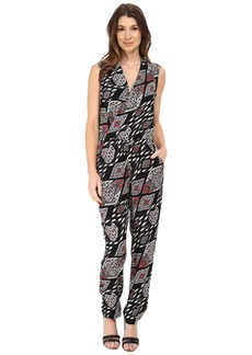 Vince Camuto Sleeveless Marrakesh Tapestry Jumpsuit
