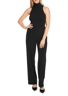 VINCE CAMUTO Sleeveless Mock-Neck Jumpsuit
