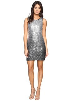Vince Camuto Sleeveless Ombre Sequins Sheath Dress