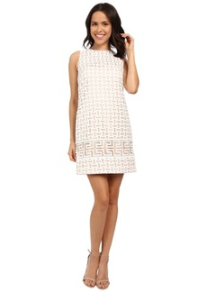 Vince Camuto Sleeveless Organza Shift Dress