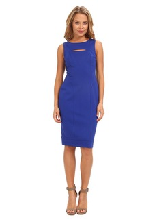 Vince Camuto Sleeveless Ponte Bodycon Dress w/ Cutout Detail