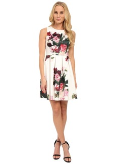 Vince Camuto Sleeveless Rose Bouquet Dress