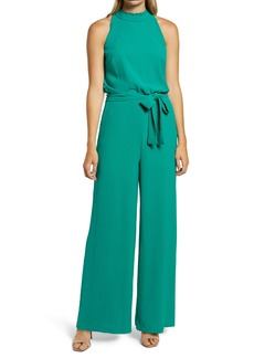 Vince Camuto Sleeveless Ruffle Neck Jumpsuit