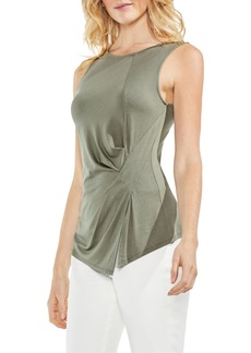 Vince Camuto Sleeveless Side Twist Top