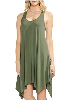 Vince Camuto Sleeveless Slub Jersey Dress