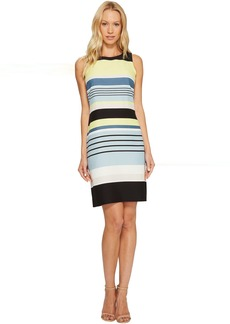 Vince Camuto Sleeveless Stripe Harmony Shift Dress