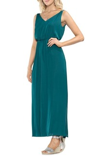 Vince Camuto Sleeveless V-neck Maxi Dress