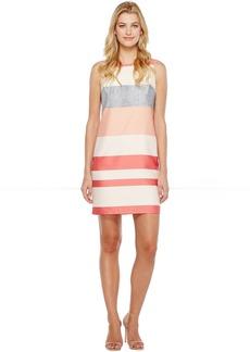Vince Camuto Sleeveless Veranda Stripe Shift Dress
