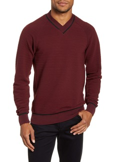 Vince Camuto Slim Fit Crossover V-Neck Sweater