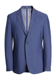 Vince Camuto Slim Fit Performance Mesh Sport Coat