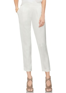 Vince Camuto Slim Leg Crop Satin Pants (Regular & Petite)