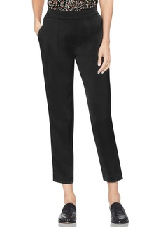Vince Camuto Slim Leg Crop Satin Pants (Regular & Petite)