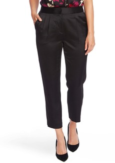 Vince Camuto Slim Leg Satin Ankle Pants