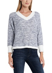 Vince Camuto Slub French Terry Top