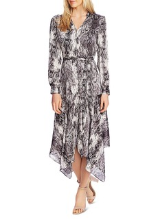 VINCE CAMUTO Snakeskin Print Midi Dress - 100% Exclusive