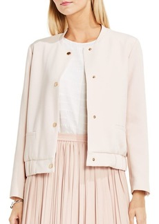 Vince Camuto Snap-Button Bomber Jacket