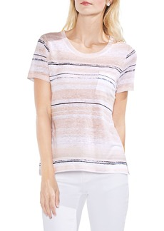 Vince Camuto Soft Dunes Stripe Tee