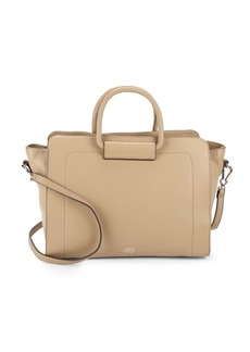 Vince Camuto Solid Leather Satchel