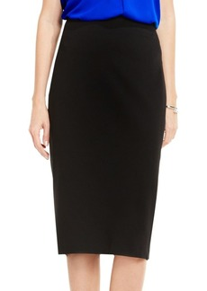 Vince Camuto Solid Pencil Skirt