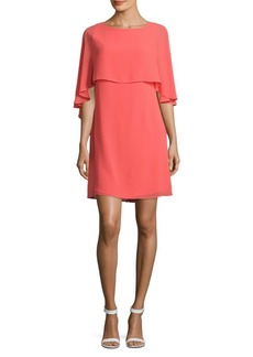 Vince Camuto Solid Popover Sheath Dress