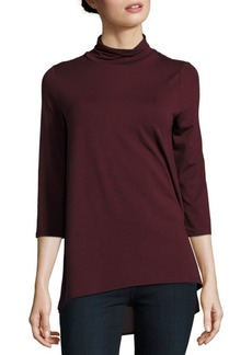 Vince Camuto Solid Turtleneck Pullover