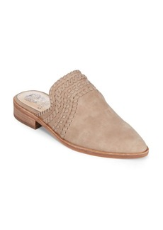 Vince Camuto Sona Casual Leather Mules