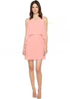 Vince Camuto Souffle Chiffon Float Dress w/ Hardware