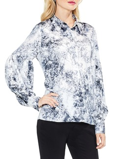 Vince Camuto Speckle Atmosphere Top