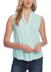 Vince Camuto Split-Neck Top