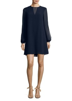 Vince Camuto Split Sleeve A-Line Float Dress