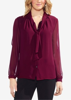 Vince Camuto Split-Sleeve Blouse