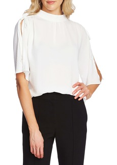 Vince Camuto Split Sleeve Top