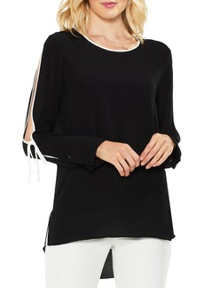 Vince Camuto Split Sleeve Top (Regular & Petite)
