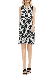 Vince Camuto Starlight Print Shift Dress