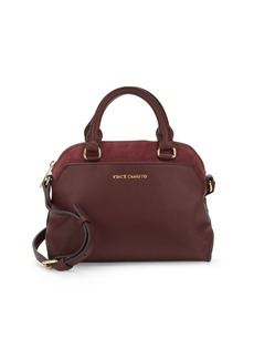 Vince Camuto Stef Solid Leather Satchel