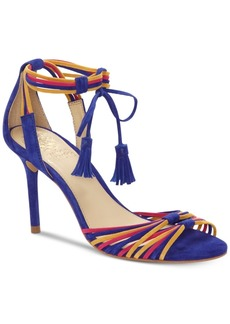 Vince Camuto Stellima Ankle-Tie Tassel Dress Sandals Women's Shoes