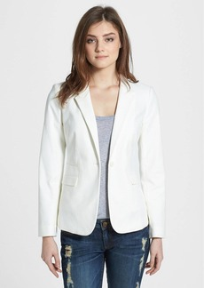 Vince Camuto Stretch Cotton One-Button Blazer (Regular & Petite)