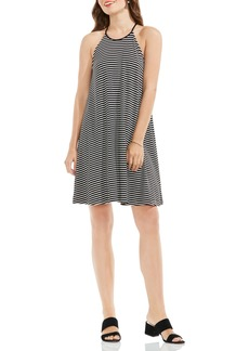 Vince Camuto Stripe A-Line Dress