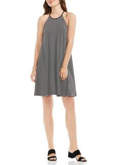 Vince Camuto Stripe A-Line Dress (Regular & Petite)