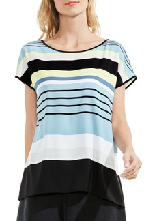 Vince Camuto Stripe Harmony Blouse