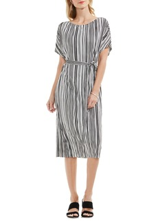 Vince Camuto Stripe Midi Dress