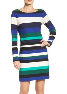 Vince Camuto Stripe Scuba Sheath Dress