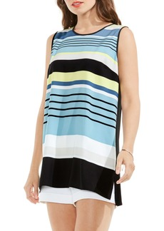 Vince Camuto Stripe Sleeveless Top