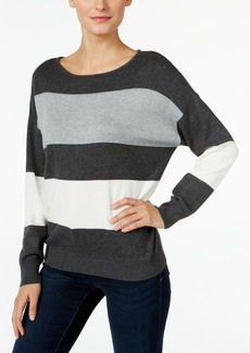 Vince Camuto Striped Colorblocked Sweater, A Macy's Exclusive
