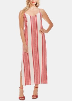 Vince Camuto Striped Cotton Maxi Dress